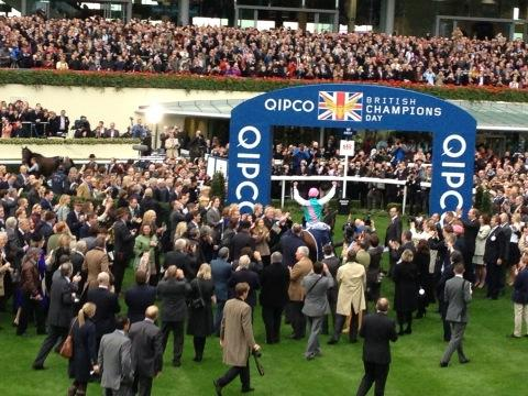 Frankel hears the cheers of the crowd at Ascot