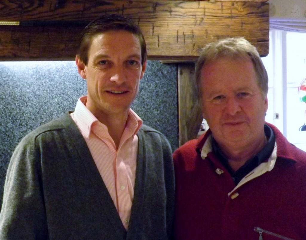 The Profitable Punter and Richard Hughes, Champion Jockey 2012