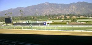 Breeders' Cup racing at Santa Anita USA