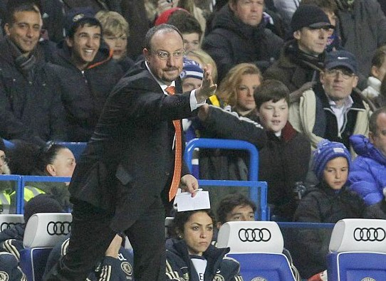 Rafa Benitez appointed as short term manager at Chelsea