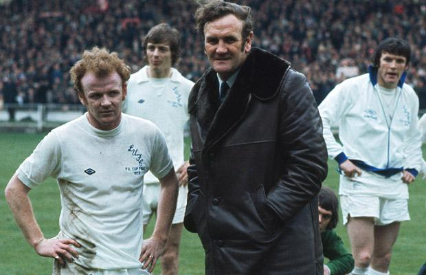 Manager Don Revie and Captain Billy Bremner