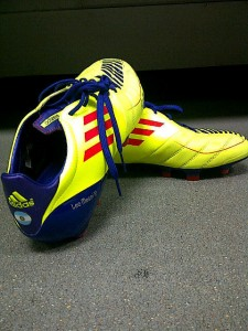 Lionel Messi's boots