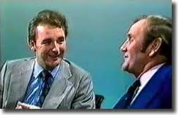 Brian Clough and Don Revie clash on Yorkshire TV