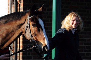 Donna Blake leads Kauto Star one last time