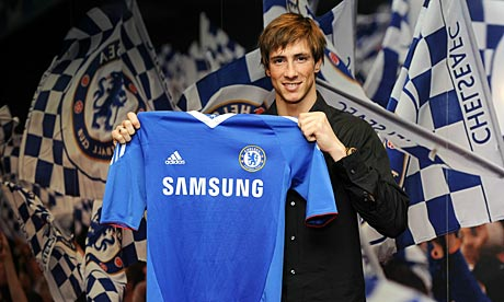 The day Fernando Torres signed for Chelsea