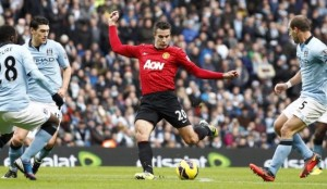 Manchester derby ends in victory for united