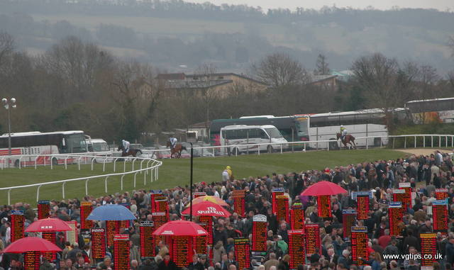 Crowds gather for the Cheltenham Festival