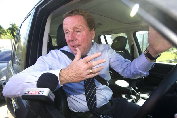 Harry Redknapp talks to sky sports on transfer deadline day