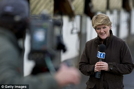 Clare Balding joins th enew look Channel 4 racing team