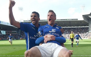 Mahrez and Vardy could be Arsenal bound Photo: Getty Images