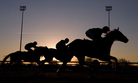 In the twighlight at Kempton Park the last of 6 winning tips from VGTIPS comes home first