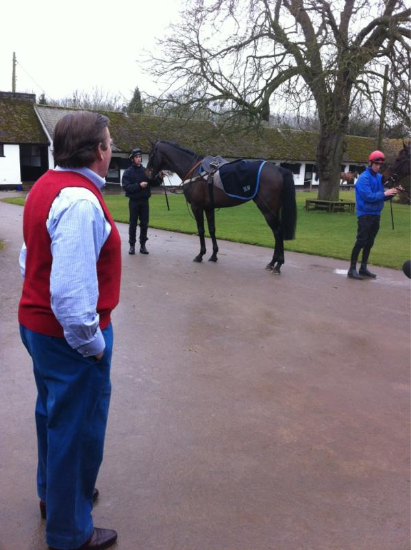 Nicky Henderson and Sprinter Sacre