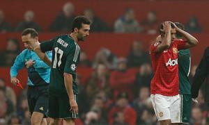 Man Utd bemoan sending off against Real Madrid VGTIPS