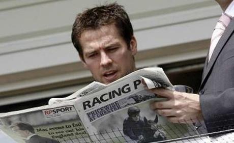 vg tips praises the racing post newspaper