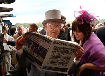 racing post commentary