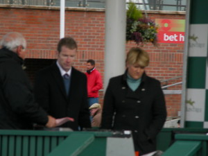mick fitzgerald was the star of the grand national coverage on channel 4