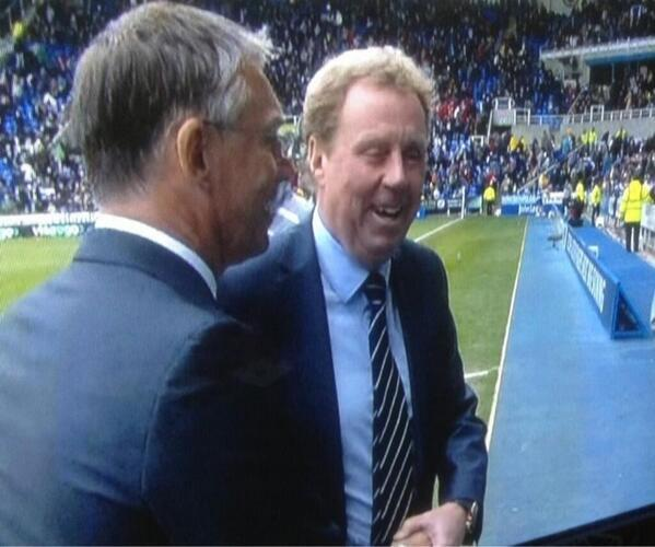 harry redknapp tells sky reporter to f off