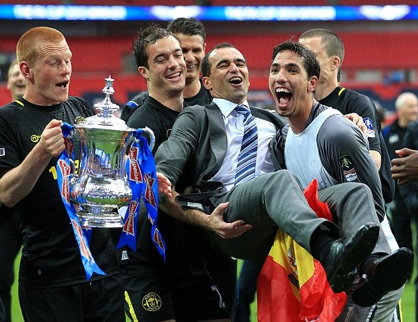 wigan lift cup and martinez