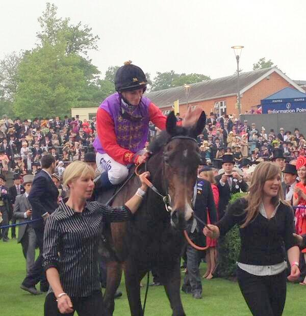 ryan moore speaks of his joy at winning race for the Queen