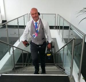 Adrian Camm, senior cameraman, Channel 4 Racing