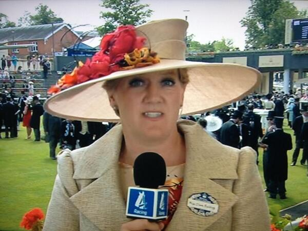 Clare Balding presents the high profile Channel 4 racing meetings vg tips