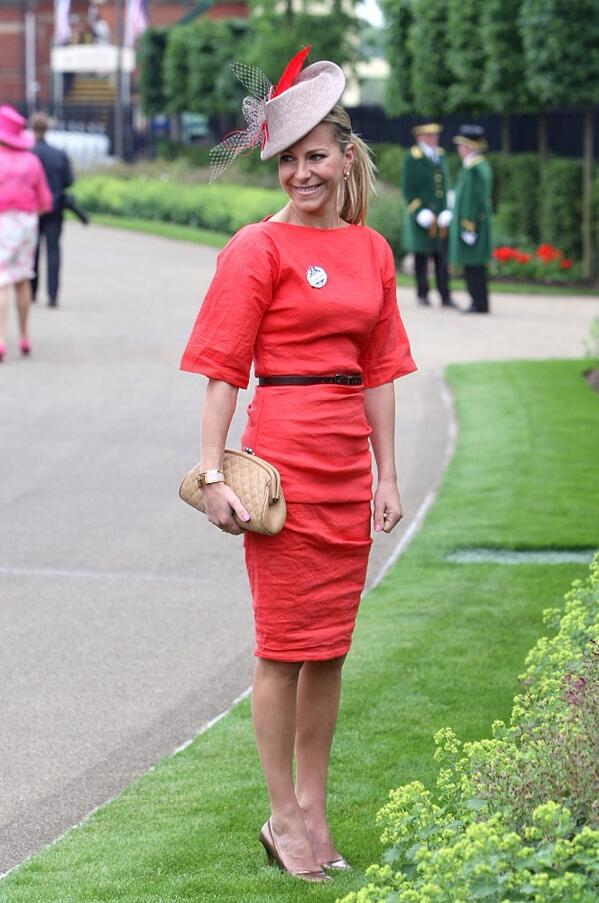 emma spencer arrives at royal ascot for channel 4 racing vg tips