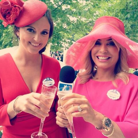 brix was the fashion correspondent for channel 4 racing at royal ascot