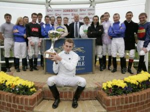 """Ryan Moore and Tony McCoy are united. """"Leave the champion jockey titles alone."""""""