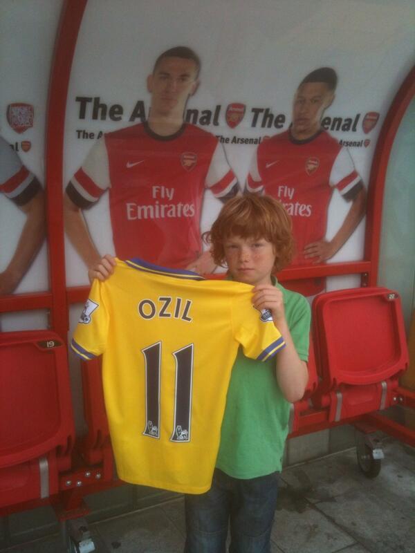 It's Özil not Ozil