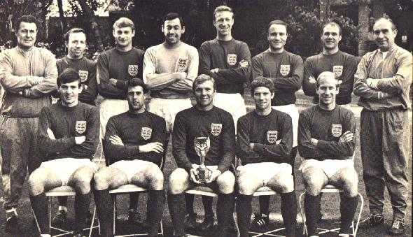 Boys of '66 - all of them wanted to play for England