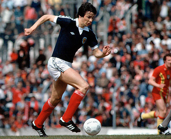 hansen in a scotland shirt