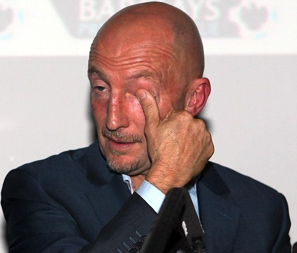 Enough is enough for Ian Holloway. Photo: PA