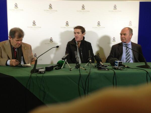 JP McManus, AP McCoy and Jonjo O'Neill