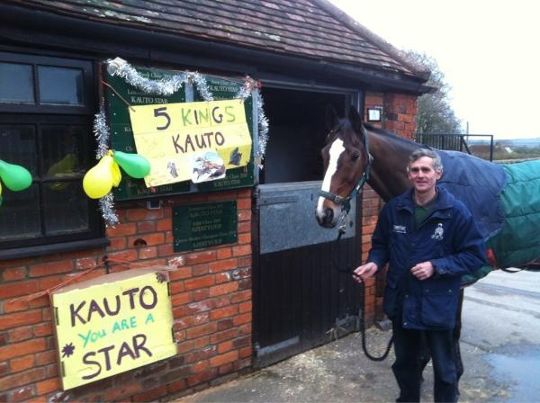 Clifford with Kauto Star