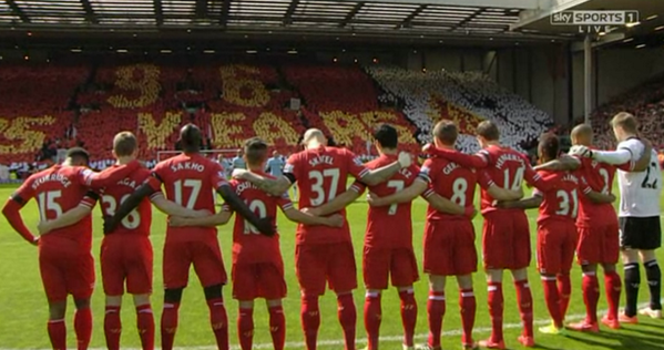 liverpool players min silence pre man city