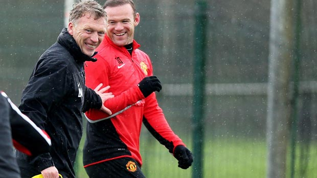moyes and rooney