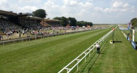 newmarket sunny view from stewards box photo by champion series
