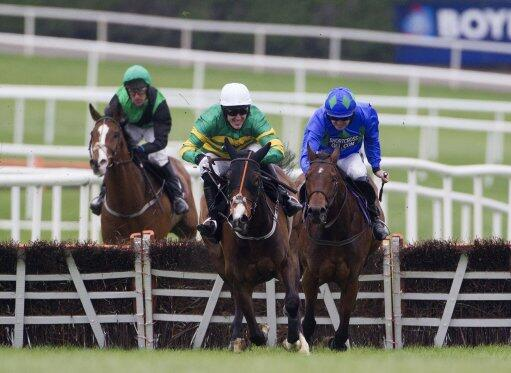 Jezki beats Hurricane Fly at Punchestown May 2014