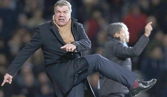 Sam Allardyce. Can he kick it at Sunderland?