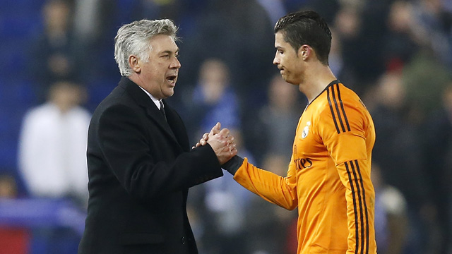 Real Madrid manager Carlo Ancelotti wants more goals from Cristiano Ronaldo - video
