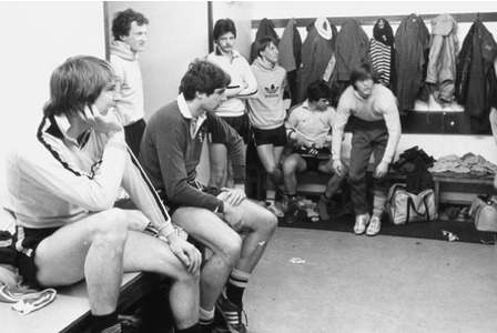 1982. Hull City players fear the worst