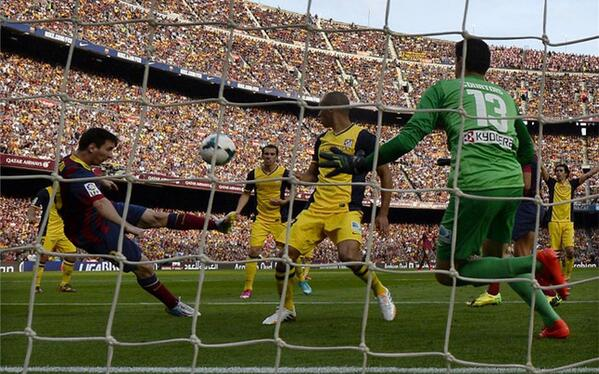 messi scores goal v atletico that was ruled out