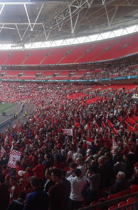 wembley orient fans empty otherwise