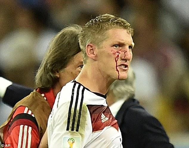Bastian Schweinsteiger cut