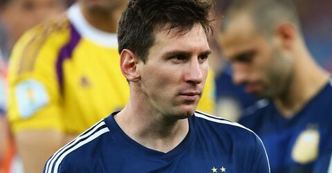 """The pain is very great"" Lionel Messi"