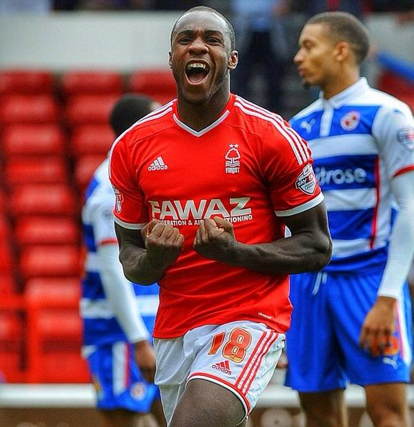 Antonio scores for Forest. Tipped to do so here at odds of 4/1.