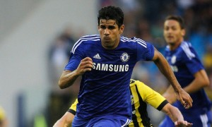 costa in chelsea shirt