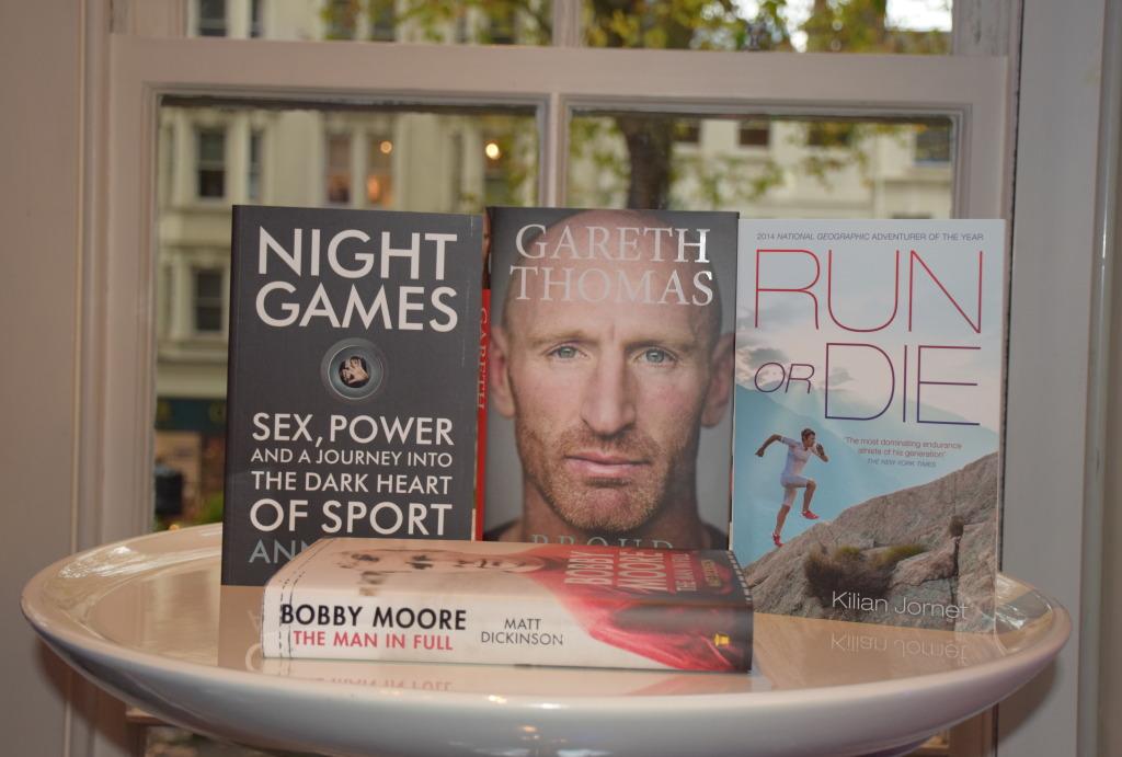 Book covers william hill sports book award2014