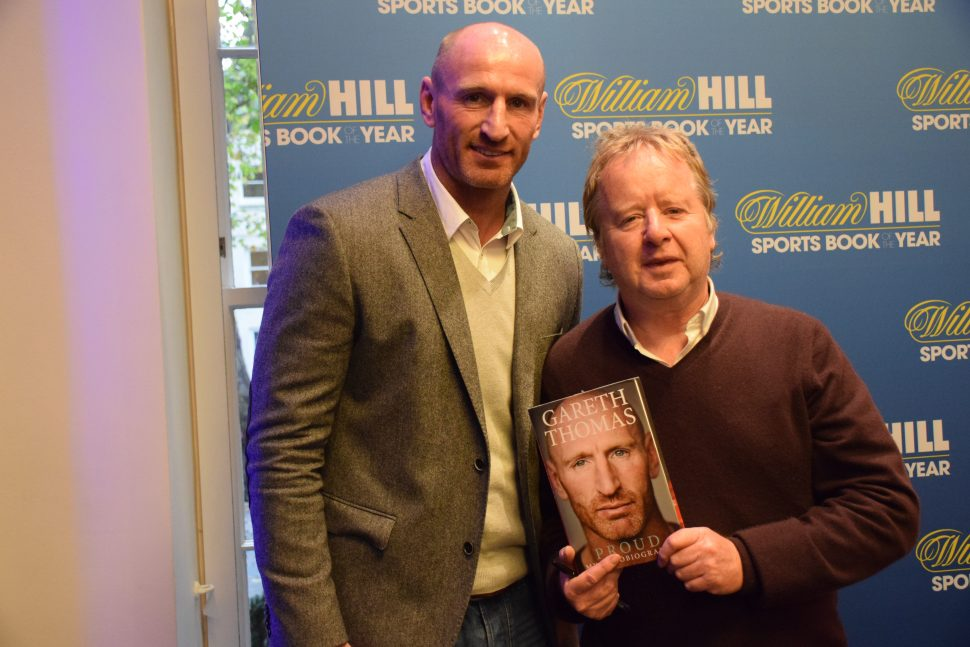 Gareth Thoms William Hill Sports Book of the Year short list 2014