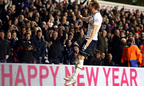 Harry Kane can't stop scoring for Spurs